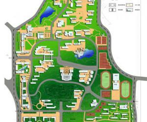 高校导航:云南大学校园平面图