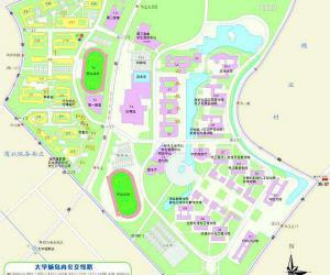 高校导航:华南理工大学校园平面图