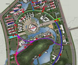 高校导航:福州大学校园平面图