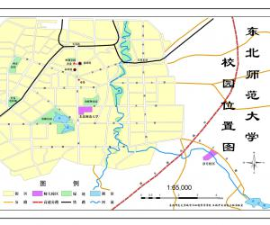 高校导航:东北师范大学校园平面图