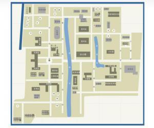 高校导航:华东师范大学校园平面图