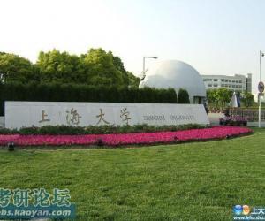 上海大学校园美景欣赏