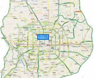 高校导航:中央财经大学校园平面图